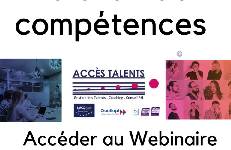 bilan de competences acces talents